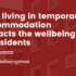 photo from article The impact of temporary accommodation on the wellbeing of people experiencing homelessness and how we can address it