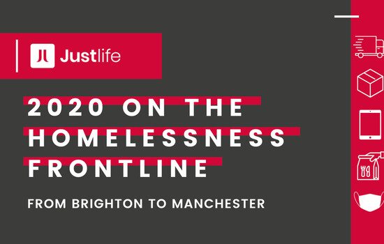2020 on the homelessness frontline: A roundup from Brighton to Manchester